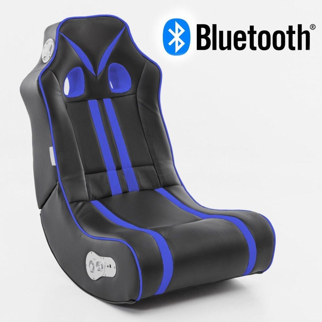 NINJA Soundchair Bluetooth Gaming Chair Gamer Rocker Soundsessel Musiksessel