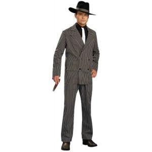 Gangster Costume Adult 1920s Mobster Halloween Fancy Dress