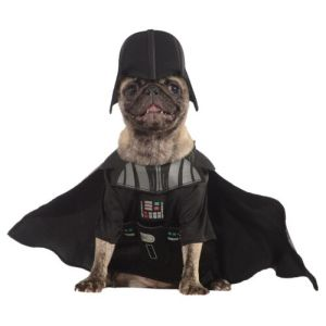 Darth Vader Pet Costume Pet Star Wars Halloween Fancy Dress