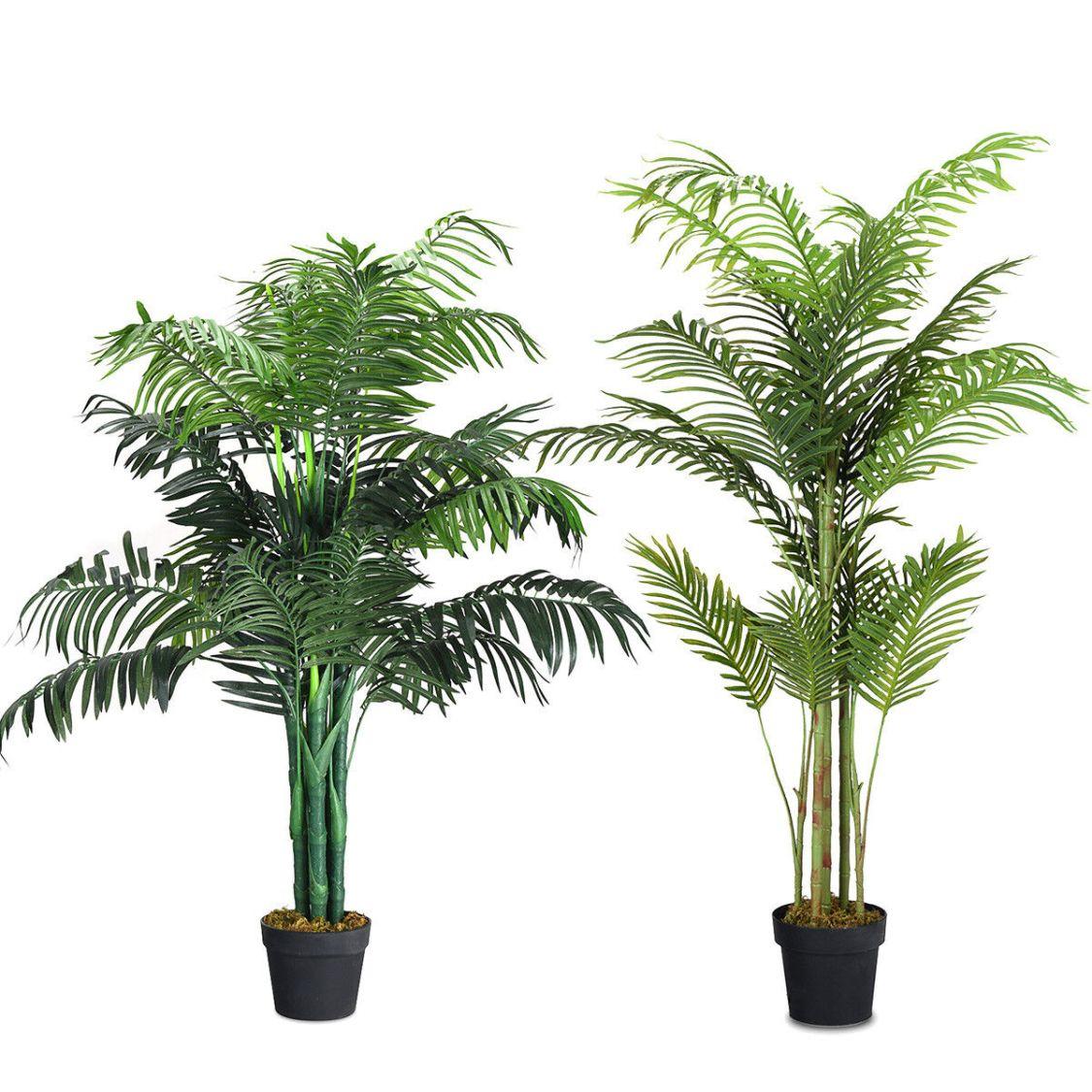 Kunstpflanze künstliche Palme Kunstbaum Zimmerpflanze Zimmerpalme Dekopflanze