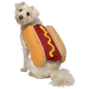 Hot Dog Costume Pet Halloween Fancy Dress