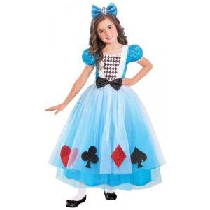 Miss Wonderland Costume Halloween Fancy Dress