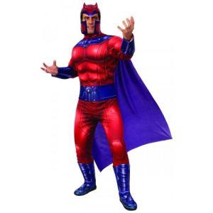 Deluxe Magneto Costume X-Men Halloween Fancy Dress