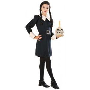 Wednesday Addams Costume Kids Addams Family Halloween Fancy Dress