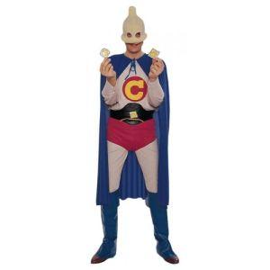 Captain Condom Costume Halloween Fancy Dress