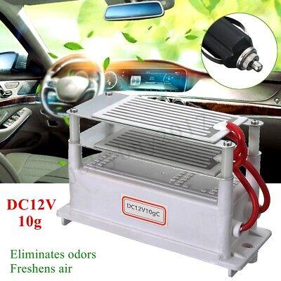DC12V 10g Auto Ozon Generator Air Ozonisators Keramikplatte Air Purifier Sterili