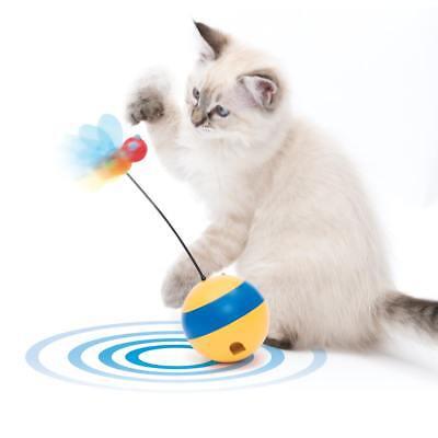 Catit Play Tumbler Bee Laser Spielzeug, Interaktives Katzenspielzeug Biene 43165