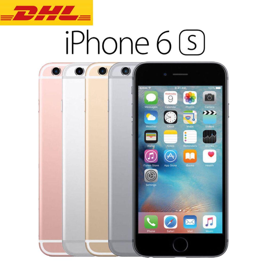 Apple iPhone 6S - 16GB - 32GB - 64GB - 128GB - Spacegrau Silber Rose Gold -DHL!