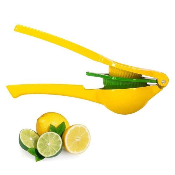 Lemon Squeezer- Premium Quality Metal Lemon Lime Squeezer - Manual Citrus Press