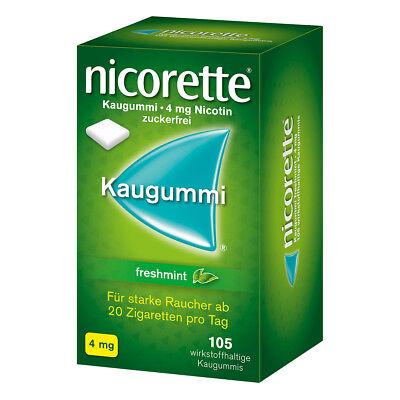 Nicorette 4mg freshmint 105stk PZN 03643454