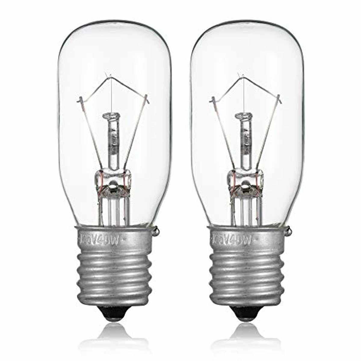 2pcs Microwave Bulb Ge Wb36x 125v 40w Incandescent