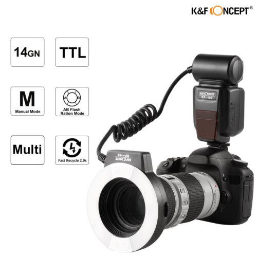 TTL Blitzlicht Aufsteckblitz Blitzgeräte Speedlight für Canon Kamera K&F Concept