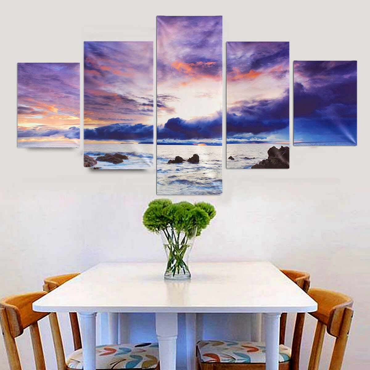 Large Canvas Huge Modern Wall Art Oil Painting Pic In Home Garden Home Decor Posters Prints Ebay For Blanja