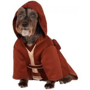 Jedi Robe Costume Pet Star Wars Halloween Fancy Dress