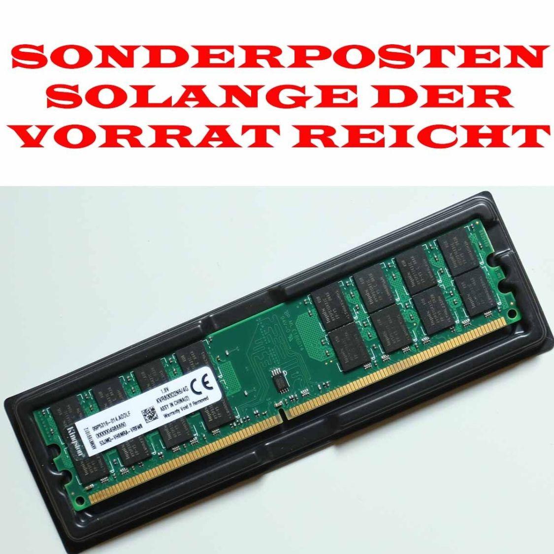 4GB DDR2 RAM PC2-6400 800 MHz RAM AMD Arbeitsspeicher Desktop PC