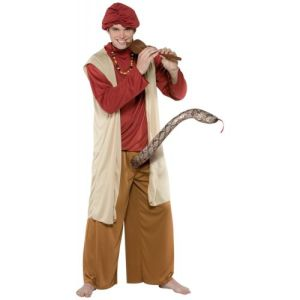 Snake Charmer Costume Adult Funny Halloween Fancy Dress