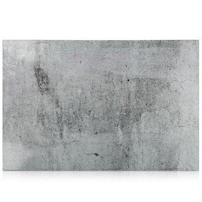 Magnetpinnwand Memoboard 60x40cm Notiztafel abwaschbar Concrete Wall Design