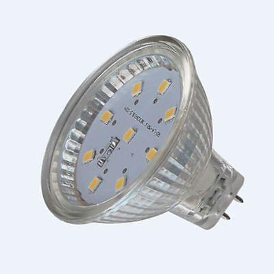 MeLiTec-Licht 4W LED GU5,3 MR16 12V Reflektorlampe (20W Licht) 240Lm Warmweiß