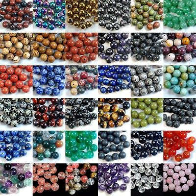 Wholesale Lot Natural Gemstone Round Spacer Loose Beads