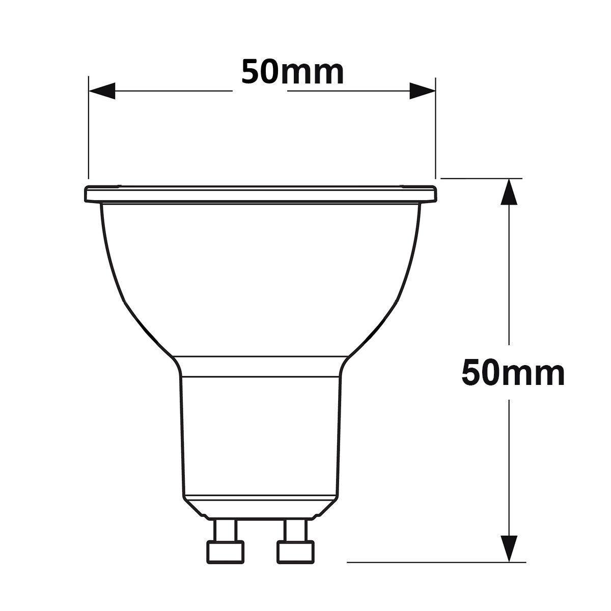 10 X Gu10 C Halogen Bulbs Lamp 35w Gu10 Bulbs