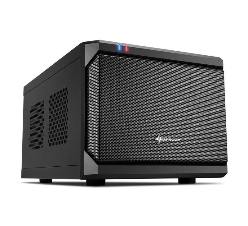 Sharkoon QB ONE, Desktop-Gehäuse (schwarz)