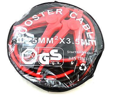 Überbrückungskabel Filmer 3,5m 25mm PKW DIN72553-25 Starthilfekabel Pannen Hilfe