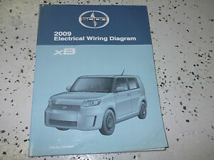 2009 Toyota Scion XB XB Electrical Wiring Diagram Service