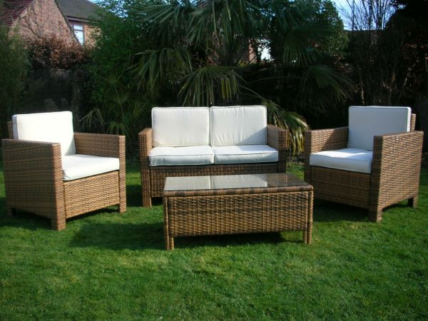 outdoor wicker rattan patio furniture NEW GARDEN RATTAN WICKER OUTDOOR CONSERVATORY FURNITURE