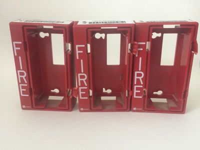 *FREE* *Lot of 3* Simplex 4904-9137 Fire Alarm Remote Strobe Housings