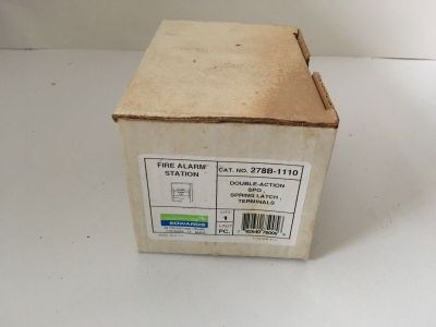 *NIB* *New* EST Edwards 278B-1110 Fire Alarm Pull Station
