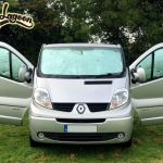 Silver Thermal Window Screen Blind 5 Set Vauxhall Vivaro Renault Trafic Camper Ebay