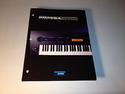 Alesis Quadrasynth 64 Voice Master Keyboard Product Brochure (1994)
