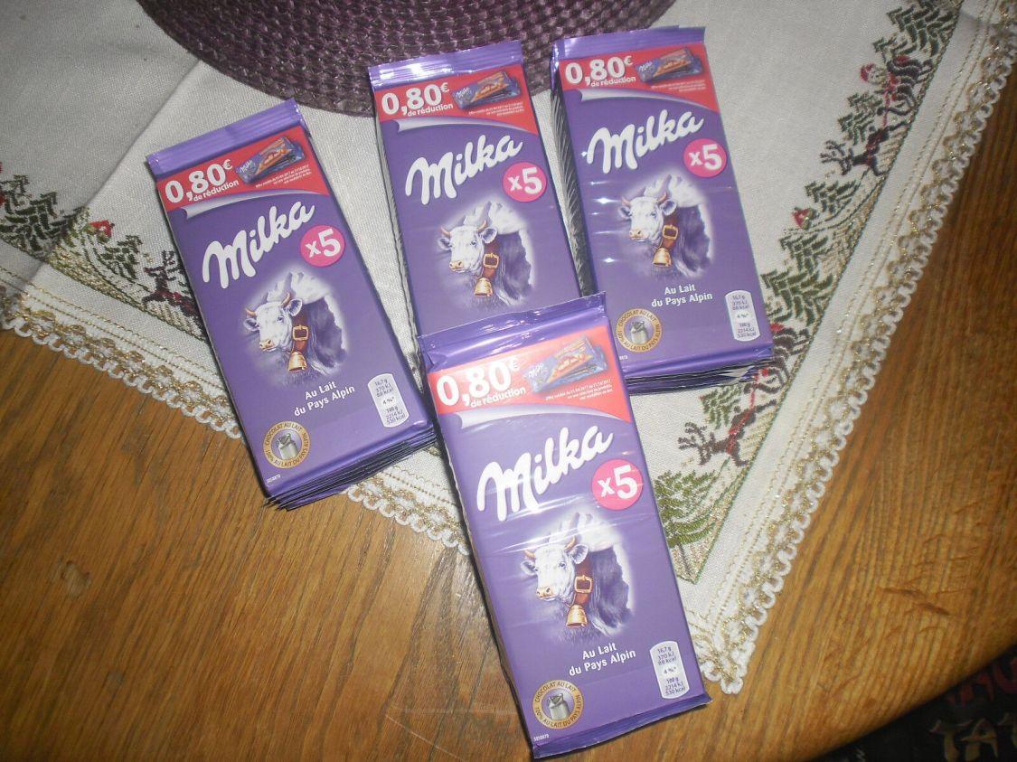 50   tafeln milka alpenmilch 100 gramm  schokolade MHD 1.6.2018