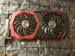 MSI AMD Radeon RX 480 (RX 480 GAMING 4G) 4GB GDDR5 PCI Express 3.0 x16 Video Car