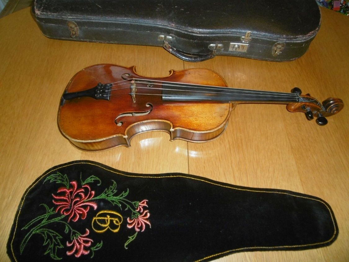 Sehr interessante alte Bratsche/Viola. Interesting old Viola ca 1940,Mecklenburg