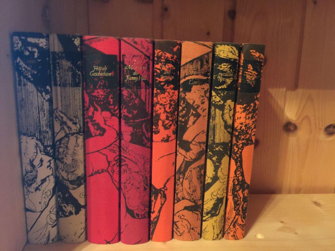 8 erotische Romane:Tolles Geschenk!Mariska,das Kamasutra,Venus im Kloster,Fanny