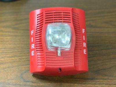 System Sensor SPSR Fire Alarm Speaker/Strobe Wall Red (No Mounting Bracket)
