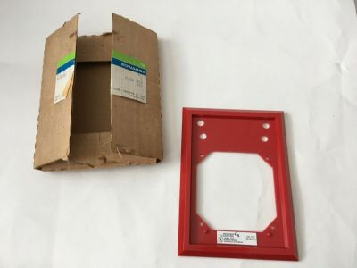 *NIB* *New* EST Edwards 897B-001 Fire Alarm Flush Trim Plate