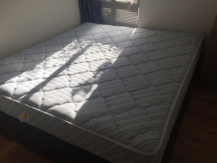 Double Bed Mattress With Two Bases