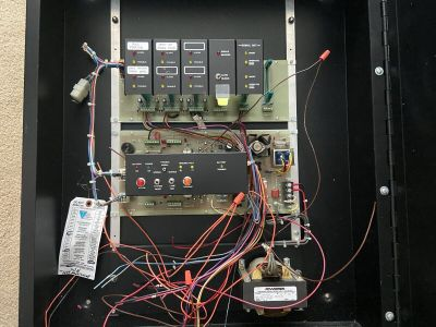 National Time and Signal Series 7000 Fire Alarm Control Panel