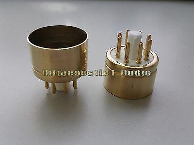2x HIFI Ceramic Tube Base Socket 8pin KT88 GEKT88 6550 Power Valve KT88G