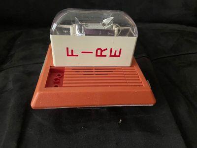 Wheelock MT-24-LS Fire Alarm Multi-tone Horn/Strobe Wall Red