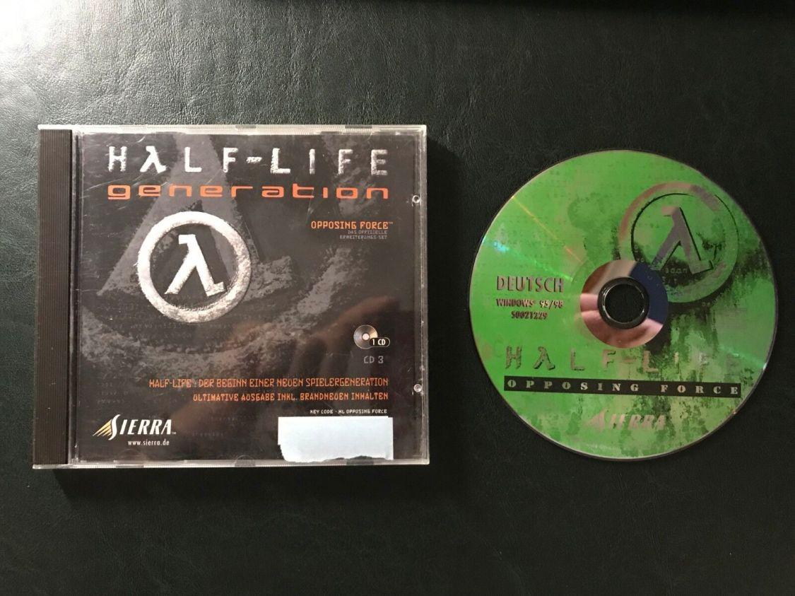 Half-Life - Generation - Opposing Force - original Spiel für den PC
