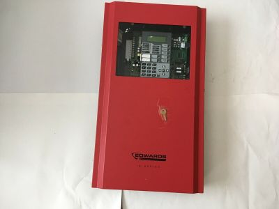 EST Edwards GE iO100R Fire Alarm Control Panel Board and Enclosure