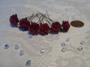 bridal flower hair accessories ebay