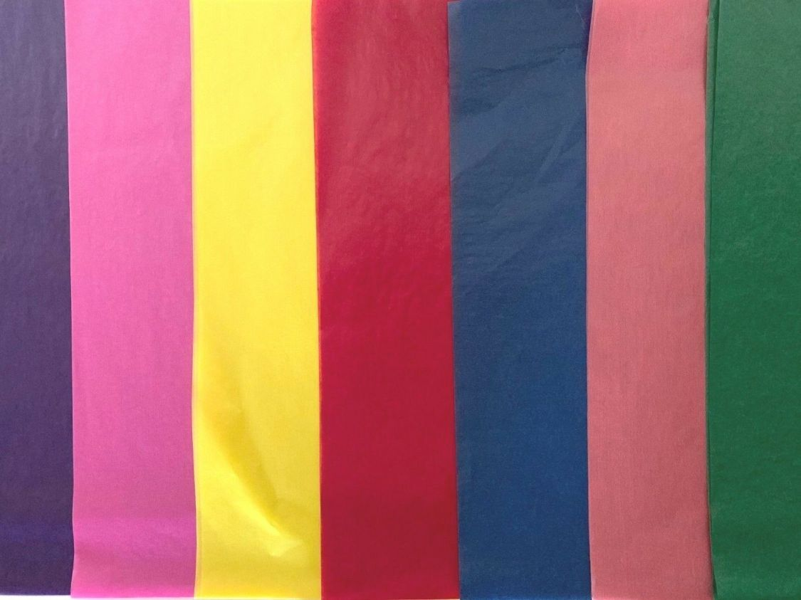 FOLIA Transparentpapier Drachenpapier 42 g / mq  70 x 100 cm  Farbe wählbar