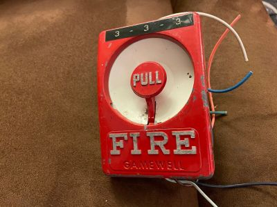 *Vintage* Gamewell Century Fire Alarm Pull Station