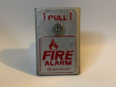 Notifier BNG-1TS Fire Alarm Pull Station with Terminals Fire-Lite BG-8