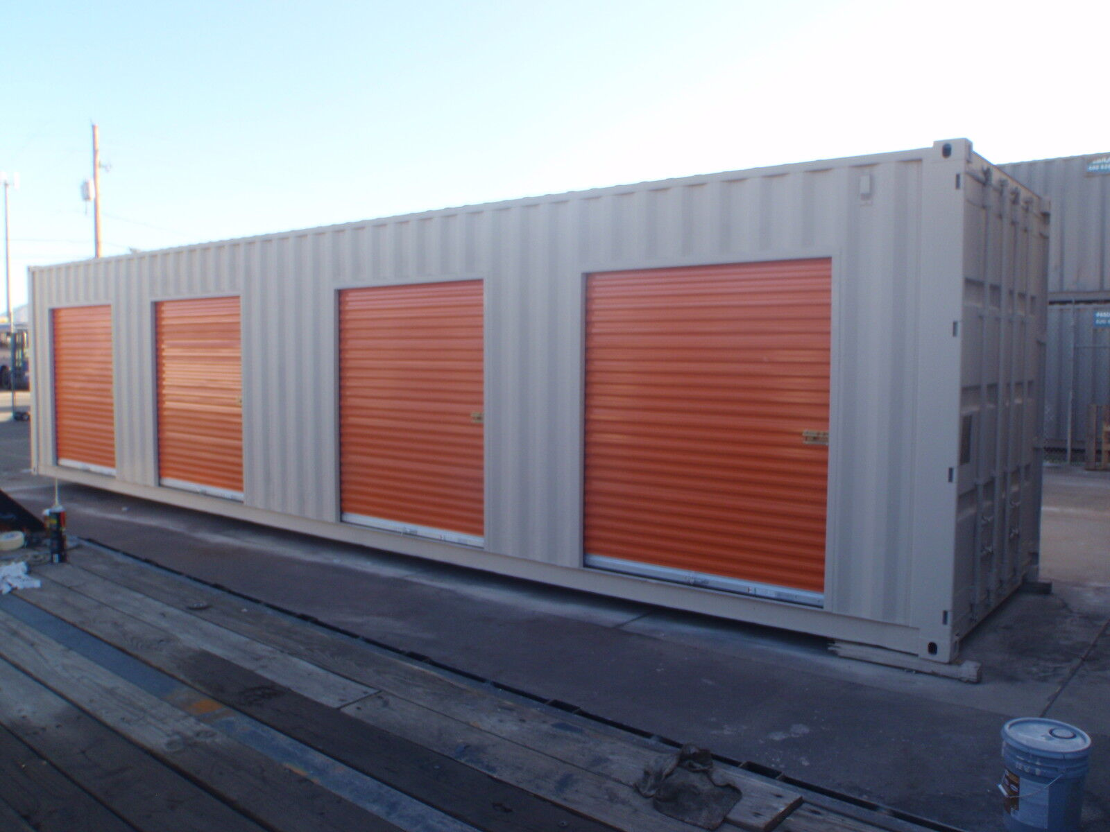 Upack Quote Portable Storage Containers & Office For Sale $5875.00  Delivery