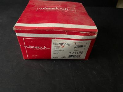 *NIB* *New* Wheelock RSS-24MCC-FW Fire Alarm Remote Strobe Ceiling White